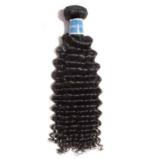 Virgin Peruvian Curly Bundle