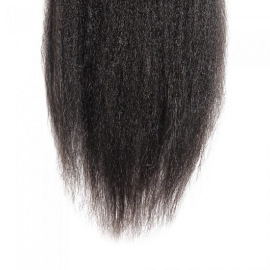 4x4 Kinky Straight Closure Bottom