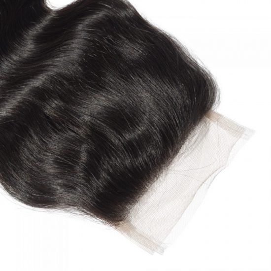 4x4 Free Part Wavy Closure Top