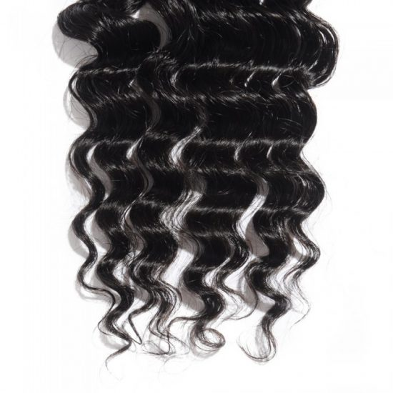 4x4 Loose Wavy Closure Bottom - 3 Parted